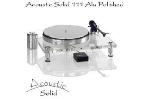 Acoustic Solid 111 Transparent Alu Polished