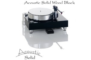 Acoustic Solid Wood Black