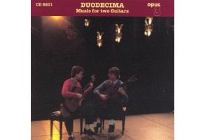 OPUS3 CD8201 – DUODECIMA – Music for two Guitars